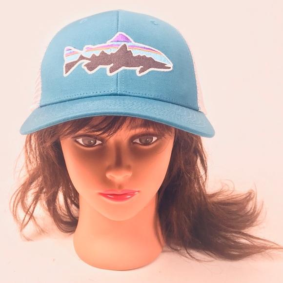 954bf29ce01fc Patagonia Salmon SnapBack Trucker Hat